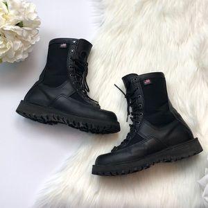 "Danner Acadia 8"" Black Leather Boots Portland 7 E4"